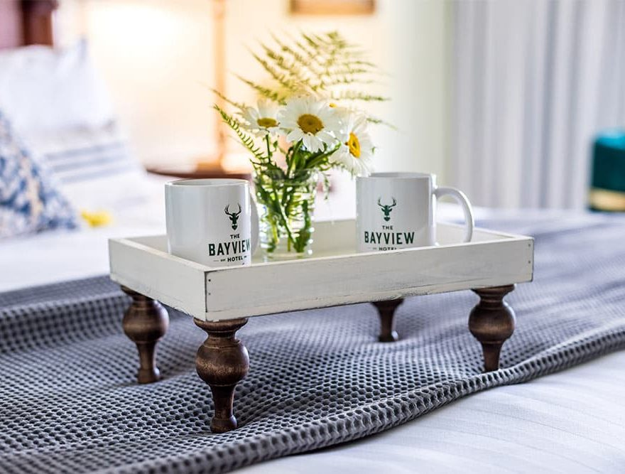 Breakfast in your room with Bayview Mugs