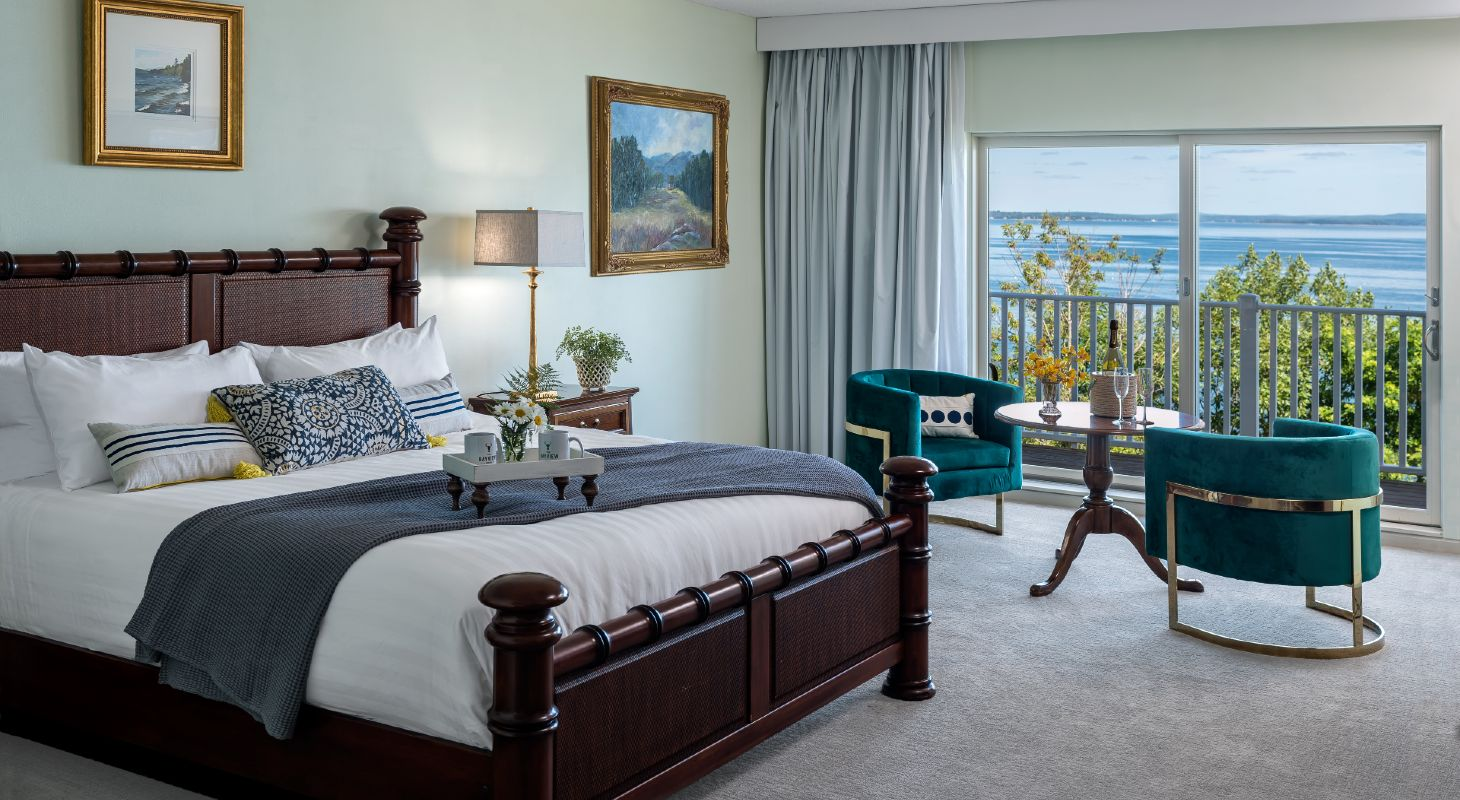 Spacious, oceanfront guest room